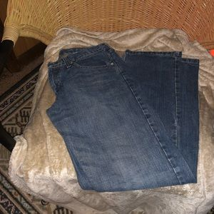 Lee Jeans Adj Waist Straight Leg